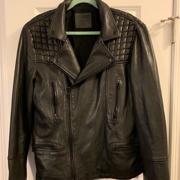 All Saints Other - ALLSAINTS Mens Catch Biker Leather Jacket
